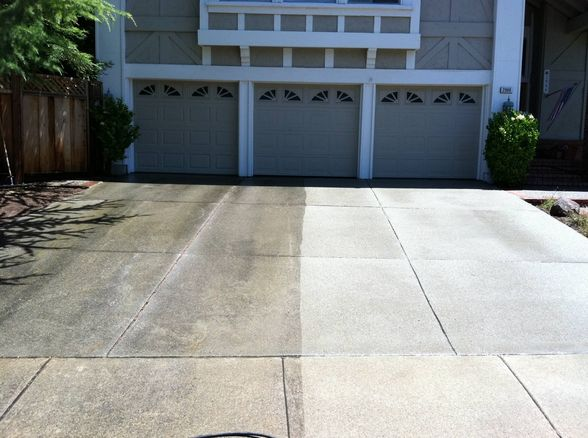 Concrete Pressure Washing